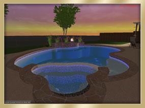 3d virtual design consultation aqua classic pools spas for Virtual pool design